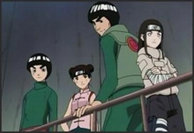 rock lee and tenten free pics