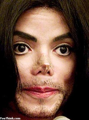 michael jackson without nose